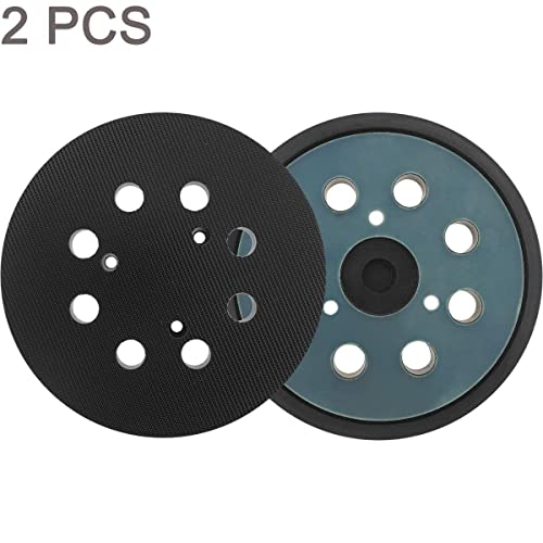 5 Inch Dia 8 Hole Sander Hook and Loop Pad Replaces BO5030//K BO5031K BO5041K Cyan Replacement Sanding pad for Dewalt//Porter Cable