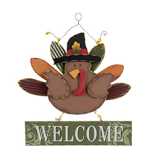 Buy Welcome Turkey Wood Wall Decor With Metal Hanger For Thanksgiving Welcome Sign For Your Home Decoration Online In Kuwait B08f25gjl3