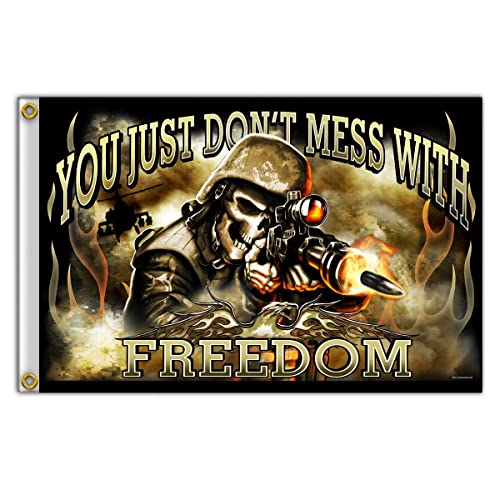 4 Width x 3 Height Hot Leathers Support Our Troops Patch