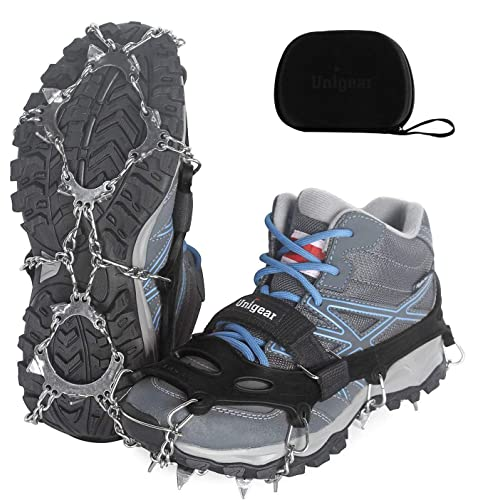 10 Stud Winter Snow Shoes Ice Grips Nordic Walkers Snow Grips Anti Slip Shoes