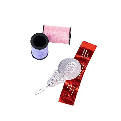 SINGER 00264 Polyester Hand Sewing Thread 24 Mini-Spools Assorted Colors