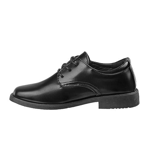Josmo Boys Classic Oxford Casual Dress Shoe Toddler, Little Kid, Big Kid