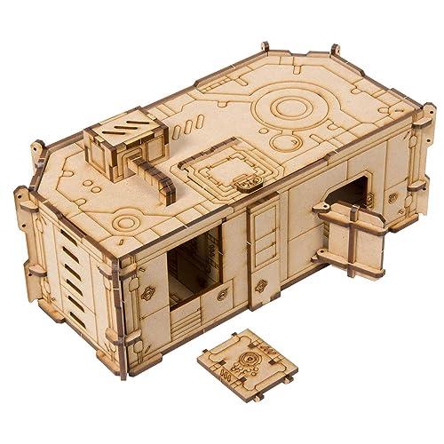 The Broken Token Horizon Grid MK.IV Sci-Fi Terrain Building