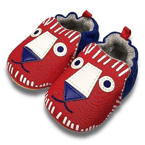 6-24 Months 01 Navy Rocket Baby Slipper 12-18 Months Infatnt TIMATEGO Toddler Baby Boys Girls Shoes Non Skid Slipper Sneaker Moccasins Infant First Walker House Walking Crib Shoes