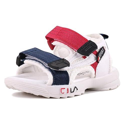 Buy LONSOEN Leather Outdoor Sport Sandals,Fisherman Sandals for Boys(Toddler/Little  Kids) Online in Kuwait. B07RKM3L7X