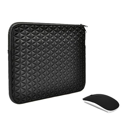 UNIK CASE-Diamond Foam Splash/&Shock Resistant Sleeve Bag for All 13-Inch Laptop