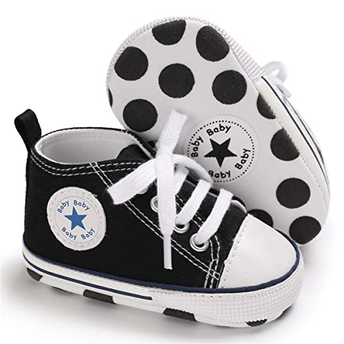 9ba5d4c2df699 Buy Baby Boys Girls Canvas Shoes - Soft Sneakers Anti-Slip Sole ...