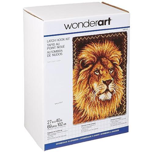 Herrschners/® Lion /& Lamb Latch Hook Kit