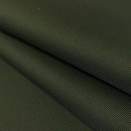 Ottertex Canvas Fabric Waterproof Outdoor 60 Wide 600 Denier Sold by The Yard 1 Yard, Army Green