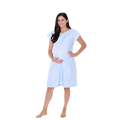 3fcf5a1ab3afd Baby Be Mine Gownies - Labor & Delivery Maternity Hospital Gown  Maternity, Hospital Bag