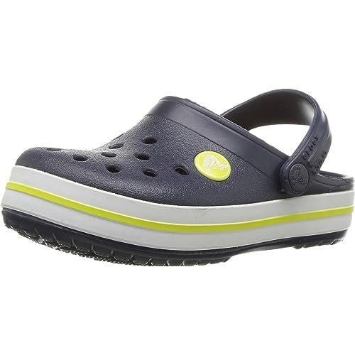 Crocs Kids Ralen Cloggs Unisex Infant Slip On Breathable Strap Regular Fit