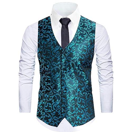 1b322e57a3777 Buy WANNEW Mens Vest Suit Vests Tuxedo Vest Vest for Men with Ubuy ...