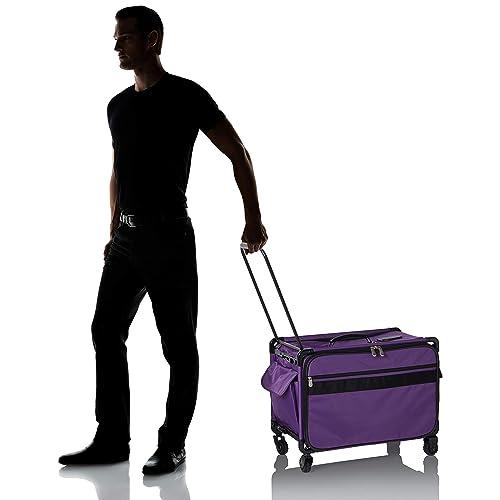 Mascot Metropolitan Tutto Embroidery Bag Extra Large X Purple