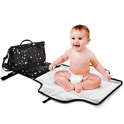 3 in 1 Folded Waterproof Baby Changing Pad Mat Clutch Diaper Change Station H1