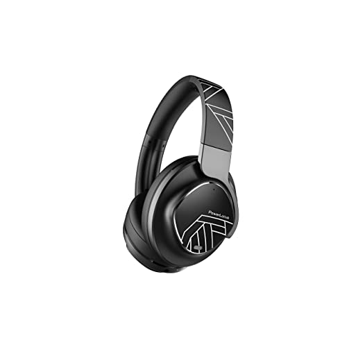 Powerlocus Active Noise Cancelling Headphones Bluetooth Over Ear Headphones With Noise Reduction Wireless Headphones Hi Fi Deep Bass Voice Assistant Foldable With Microphone For Phoneslaptopspc Buy Products Online With Ubuy Kuwait In Affordable