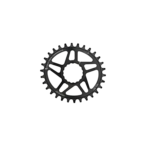 Wolf Tooth Direct-Mount Elliptical//Oval Drop-Stop Chainring for RaceFace and SRAM Cranks 32t, SRAM GXP