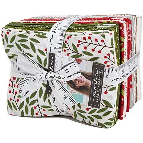CRAFT BLOCKS Fabric Panel Moda Holly Taylor 10 Inch HOLIDAY IN THE PINES QUILT