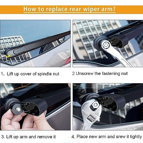 X5 SUV Jul 2013 Onwards Rear Wiper Blade 1 x Blade