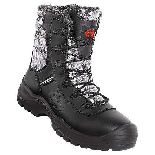 Size 03 V12 Otter Black S3 Metal Free Derby Boot