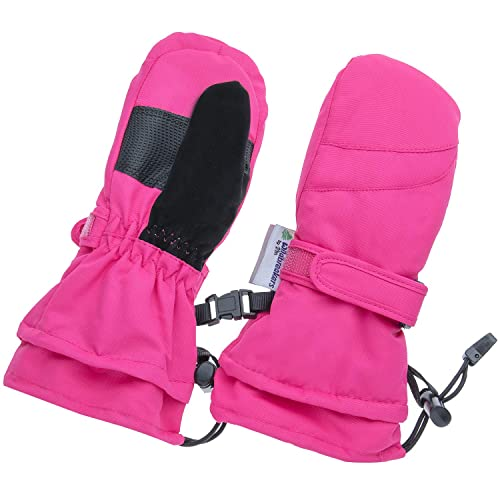 Children Toddlers and Baby Mittens Xtra Long Gauntlet Winter Waterproof Gloves