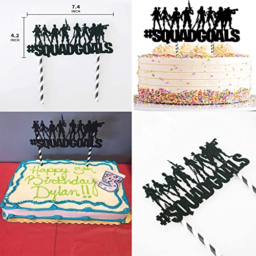 include Balloons Banner,Bracelets,Finger Lights,Stickers,Cake Toppers Birthday Party Supplies for Game Fans 123pcs Gaming Theme Party Decorations Cupcake Toppers