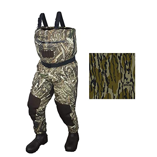 4fae64a3af4ca Buy Hard Core Breatheable All Season Chest Wader - Bottomland (10) with  Ubuy Kuwait. B07GFWXPCJ