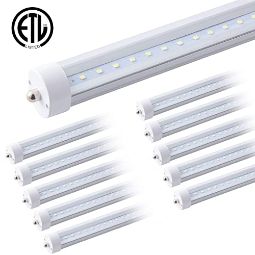 8ft LED Tube,40W Single Pin T12,8/' F96T12//CW//HO LED Fluorescent Tube Replacement