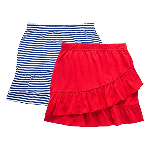 M.D.K Girls Chic Breathable Sportwear Solid Sporty Athletic Mini Skirts