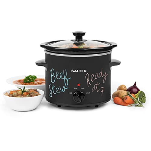 Tower T16018RG 210W 3.5L Slow Cooker 3 Heat Settings Black//Rose Gold Brand New