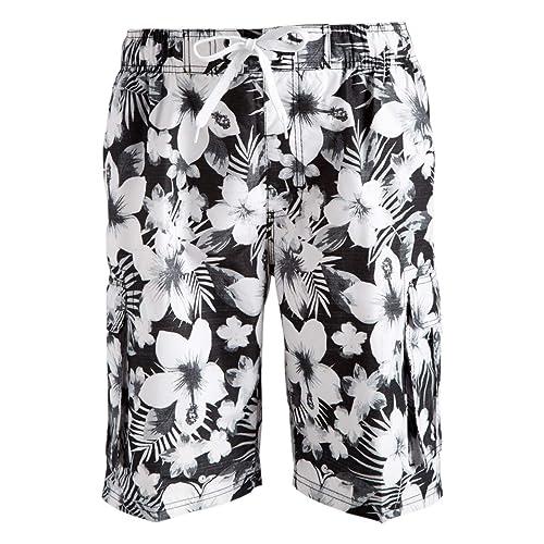 ZENRICK 9 Mens Quick Dry Plain Swim Trunks Bathing Suit Beach Shorts Without Pocket