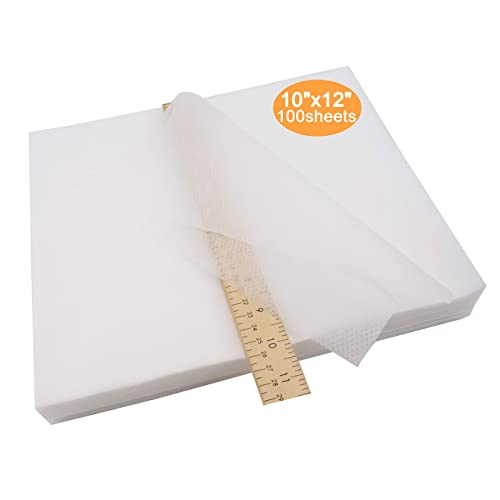 Fits 5x7 Hoops New brothread Cut Away Machine Embroidery Stabilizer Backing 10x12-100 Precut Sheets Medium Weight 2.5 Ounce