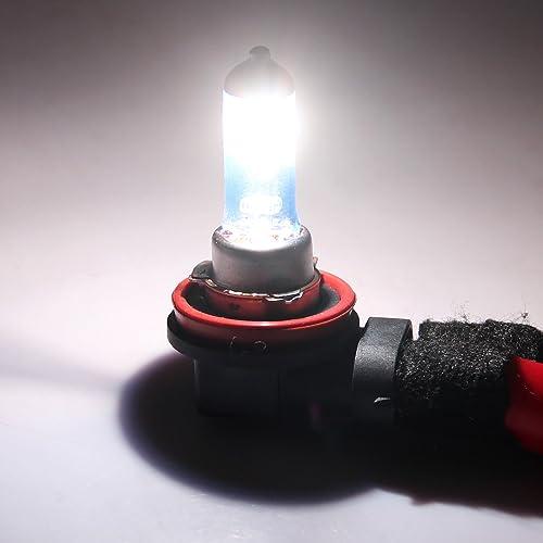 2 Pieces WinPower HB4// 9006 Halogen Headlight Bulbs 100W 5000K Warm White Lamp 12V Auto Car Fog lights Sidelight DRL