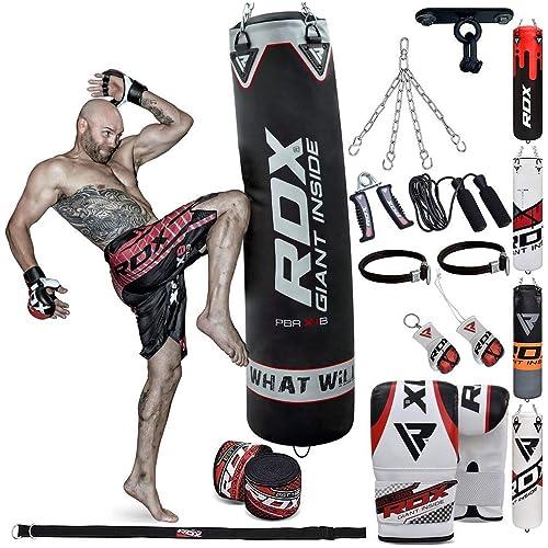 BBE  Pu Punchbag 20Kg 3 Unisex Adult Boxing   Black//Red 3FT