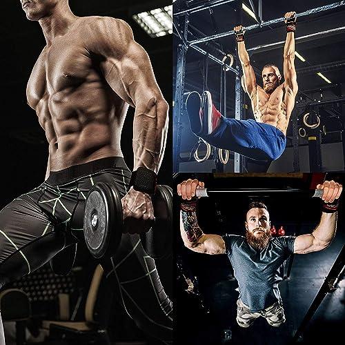 Weight Lifting Hooks Straps Wrist Grips Deadlift Powerlifting Chin Up Workout
