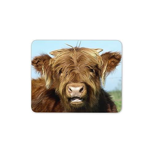 Cow Farm Farmer Animal Farming Gift PC Computer #8589 Cool Cows Mouse Mat Pad