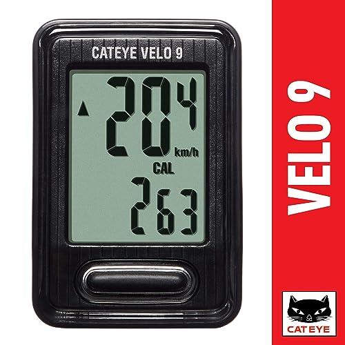 CATEYE CC-VL820 Velo 9 Cycle Computer Black