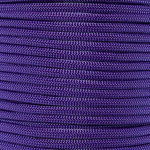 PARACORD PLANET 10 20 25 50 100 Foot Hanks and 250 1000 Foot Spools of Parachute 550 Cord Type III 7 Strand Paracord Stryper 100 Feet