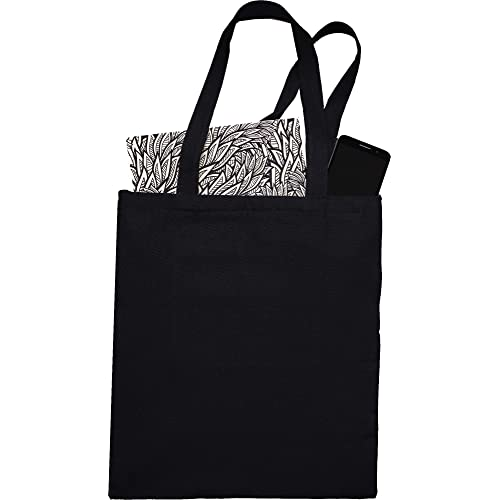 Buy Natural Cotton Canvas Tote Bags Bulk Plain Fabric For Crafts