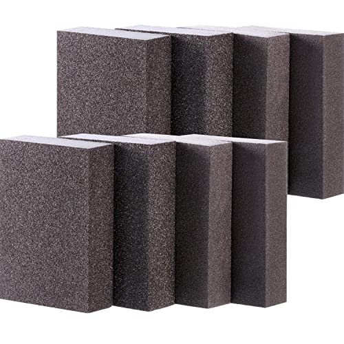 20 Pack ProGrit Sanding Sponges 1500 Grit Ultrafine Between Coats Hand Sander Pads Flexible Softback Wet Dry