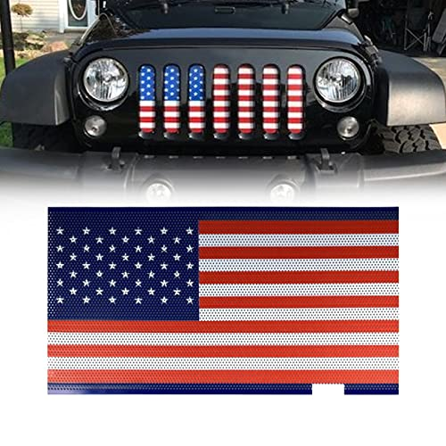 Gladiator Vader Grille Front Glossy Black for 2007-2017 Jeep Wrangler JK JKU Unlimited Rubicon Sahara X Off Road Sport Exterior Accessories Parts