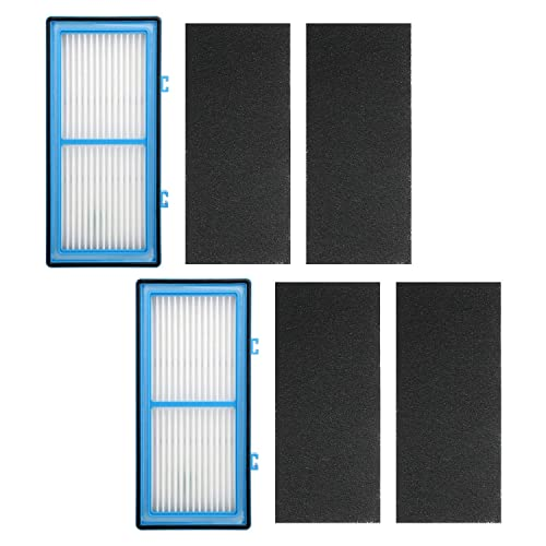 HAPF30AT 4*Carbon Booster Filters for Holmes AER1 Series 2*HEPA Filters