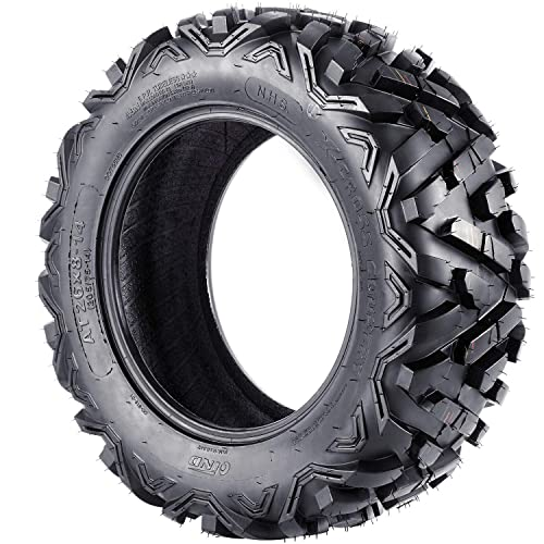 ATV Mud Tires 26x8-14 26x10-14 ATV Tires 26 inch Set of 4 26x8x14 26x10x14 6PR