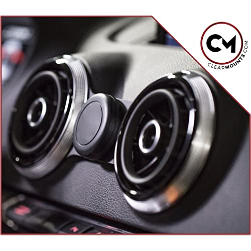 8V e- Tron Our Exclusive Low-Profile Magnetic Mount CLEARMOUNTS Audi Phone Holder RS3 Designed for: 2013-2020 Audi A3 S3