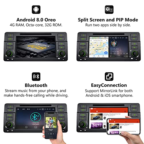 Buy Car Stereo Radio Eonon Double Din with Backup