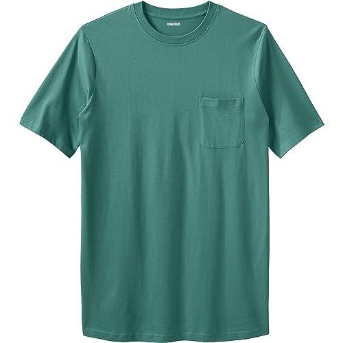 Color Crewneck T-Shirts Harbor Bay by DXL Big and Tall 3-pk