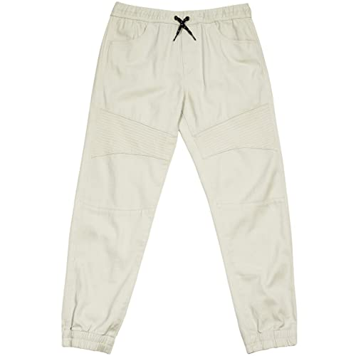 TONY HAWK Kids Boys Cotton Stretch Twill Woven Jogger Pants with Drawstring and Pockets School Clothes