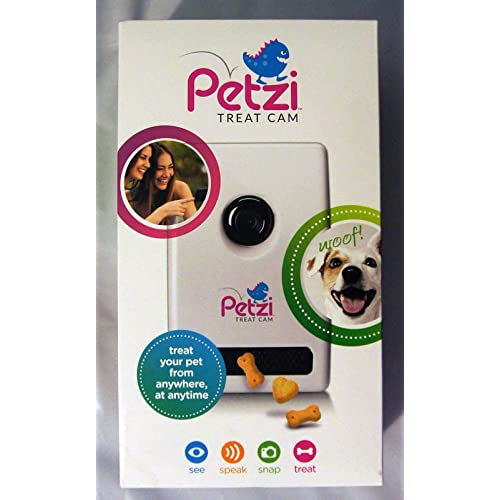 Cats Dogs Petzi Treat Cam: Wi-Fi Pet Camera /& Treat Dispenser Videos Gadget 13.3 x 7.3 x 4.5 inches