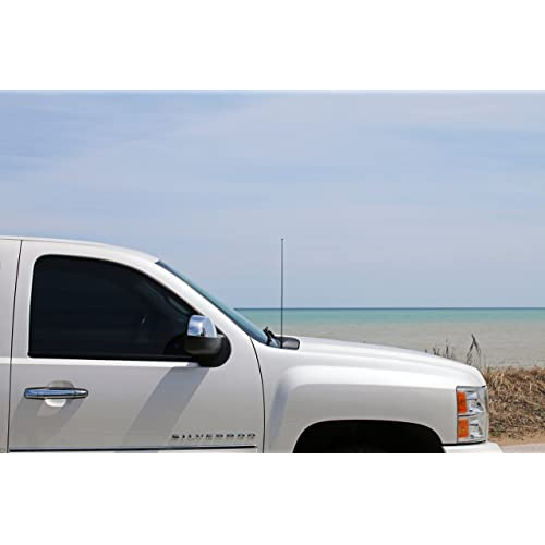 """31/"""" Black Spring Stainless AM//FM Antenna Mast FITS 1997-1999 Ford EXPEDITION"""