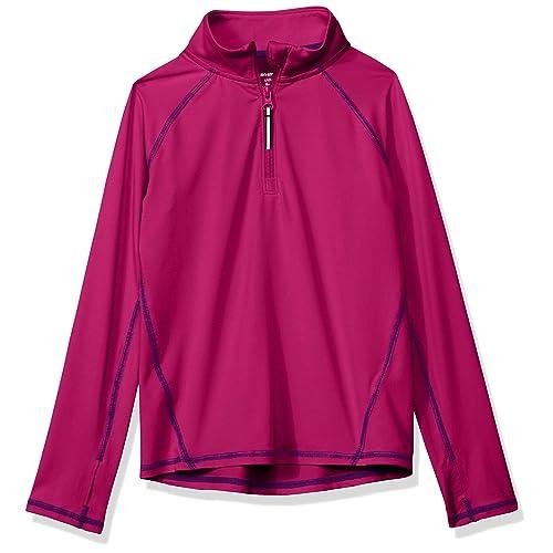 Essentials Girls Half-Zip Active Jacket