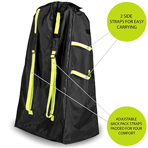 Protect Your Childs Umbrella Strollers from Dirt /& Damage Umbrella Stroller Travel Bag -Make Travel Easier /& Save Money Baby Gate Check Bags for Air Travel Durable Waterproof and Easy to Carry.